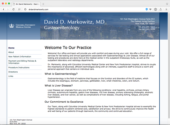 David Markowitz, MD